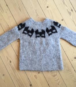 Grå sweater