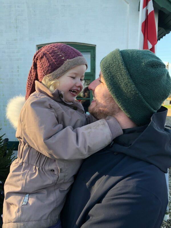 Emma og far